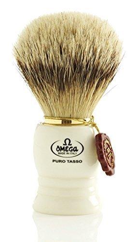 Omega 641 Silvertip Badger Hair Shaving Brush by Omega