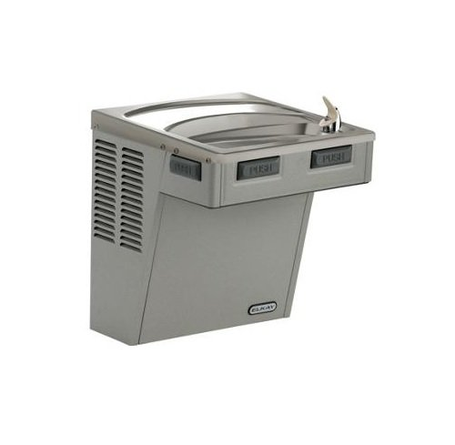 Elkay EMABF8L Wall Mount Ada 8GPH Water Cooler (Refrigerated Drinking Fountain) Stainless Steel