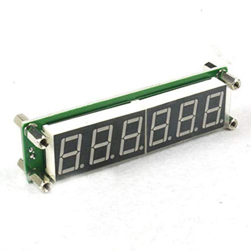 Frequency Counter Cymometer Tester RF 6 Digit Blue Led Signal Frequency Counter Cymometer Tester 0.1 to 65 MHz (Digit Led 6)