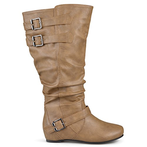 Taupe Co Women's Boot Wide Brinley Slouch wc Cammie Calf xfYq4WZwg