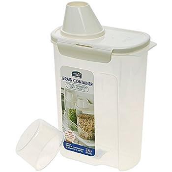 Amazon.com - Rice Storage Bin with Pour Spout by Asvel 2kg