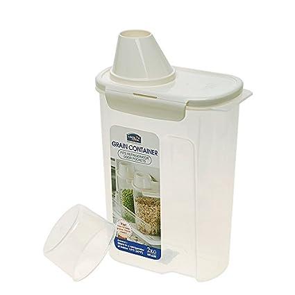 Amazoncom LOCK LOCK Grain 10 Cups Storage Container 81 oz