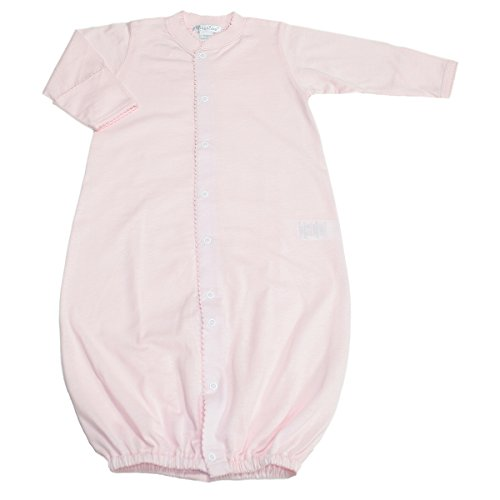 Kissy Kissy Baby Signature Convertible Gown-Pink-Preemie