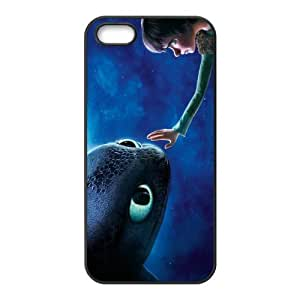 Customize Movie How to Train Your Dragon Back Case for iphone 5,5S JN5S-1553