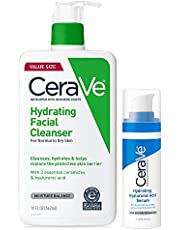 CeraVe Hydrating Facial Cleanser | Moisturizing Non-Foaming Face Wash