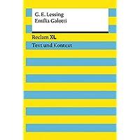 Emilia Galotti. Textausgabe mit Kommentar und Materialien: Reclam XL – Text und Kontext