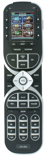 Universal Remote Control MX-810 Custom Programmable Remote Control with PC Wizard Software (Discontinued by (810 Pro Cabinet)