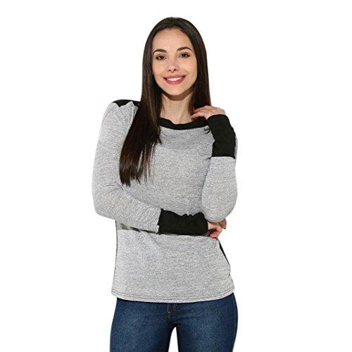 [S-XL] レディース Tシャツ カラーマッチング レディース セーター 長袖 トップス おしゃれ ゆったり カジュアル 人気 高品質 快適 薄手 ホット製品 通勤 通学