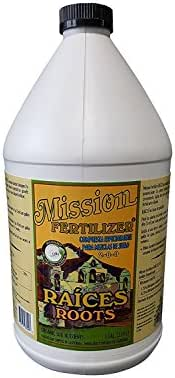 Mission Fertilizer Raices Roots 2-0-0 Organic Fertilizer Gallon