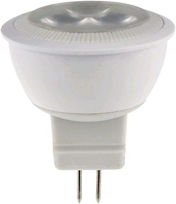 A2ZWORLD LAMPADA LED MR11 12 SMD 5050 2W 12V DC BIANCO CALDO PER LAMPADARIO