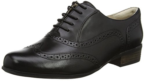 Hamble Femme Derbys Clarks Leather Noir Oak black dq8UxU4O