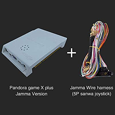 Afittel0 para Pandora Saga Caja Jamma Tabla con 2600 IN 1 Arcade ...