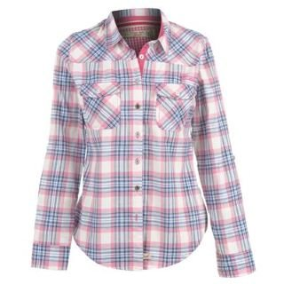 Lee Cooper Check Shirt Ladies Blue/Pink 16 (XL): Amazon.co.uk ...