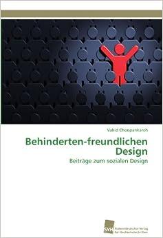 Book Behinderten-freundlichen Design: Beiträge zum sozialen Design (German Edition)