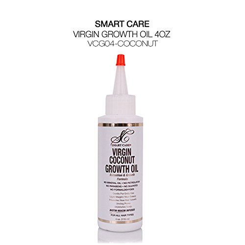 (Smart Care Virgin Growth Oil Retention & Growth Formula Wild Growth (1 PACK, Coconut))