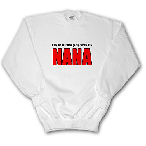 EvaDane - Quotes - Only The Best Mom Gets Promoted To Nana Red - Sweatshirts - Adult SweatShirt XL (ss_221761_4)