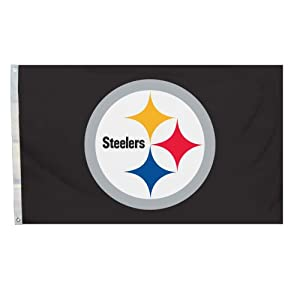 NFL 3 x 5-Foot Logo Only Flag with Grommets