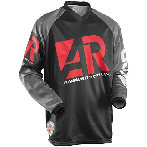- Answer Racing Mode Men's Off-Road Motorcycle Jersey - Red/Black / X-Large
