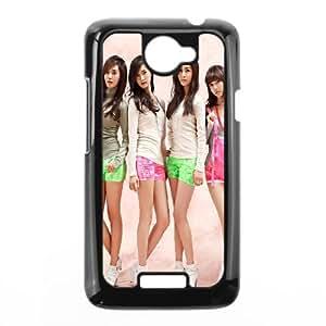 HTC One X Cell Phone Case Black Pink Girls Generation Srlcu