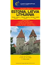 Estonia, Latvia,Lithuania 0483 - Cartogr. pays