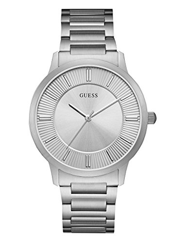 GUESS-Mens-Quartz-Stainless-Steel-Casual-Watch-ColorSilver-Toned-Model-U0990G2