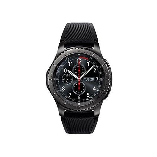 Samsung - Gear S3 Frontier Smartwatch 46mm - T-Mobile 4G LTE Version, Dark Grey SM-R765T (Certified Refurbished)