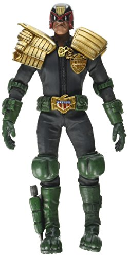 Three A 2000 AD Judge Dredd Action Figure (1:12 Scale)