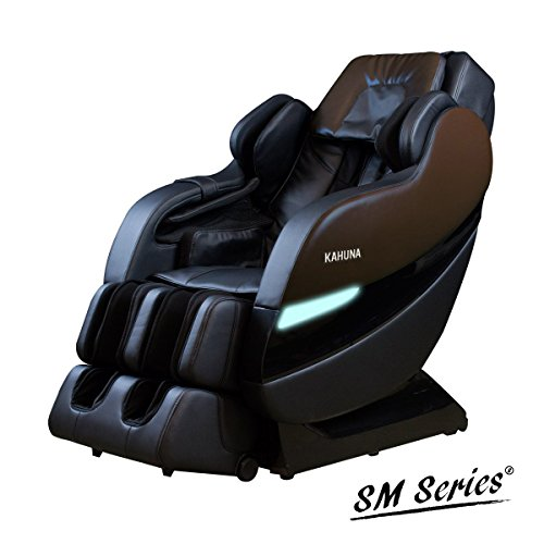 TOP PERFORMANCE KAHUNA SUPERIOR MASSAGE CHAIR WITH NEW SL-TRACK WITH 6 ROLLERS – SM-7300 BROWN/BLACK (Dark Brown/Black) 41VpqjPogBL  Store 41VpqjPogBL