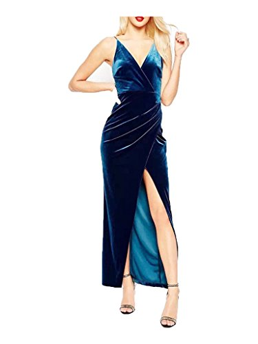 Buy long tight dress with split - 3