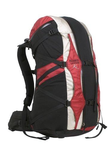 Granite Gear Nimbus Latitude Ki 3900 Backpack (Large, Red Ribbon/Putty), Outdoor Stuffs
