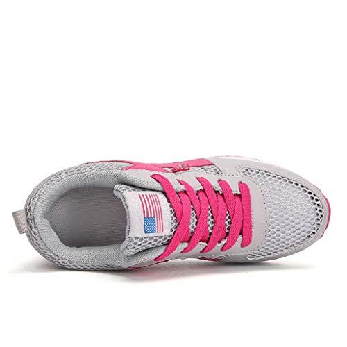 Madmoon Damen Sneaker Running Laufschuhe Sportschuhe