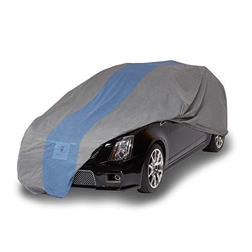 Duck Covers Defender Station Wagon Cover, Fits Wagons up to 16 ft. 8 (1995 Mercury Sable Station Wagon)