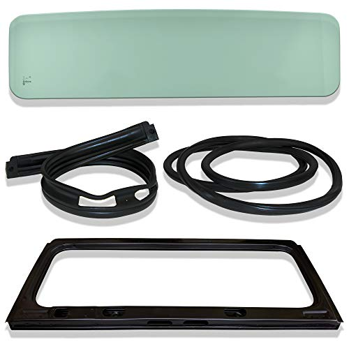 - Make Auto Parts Manufacturing Set of 4 Windshield Glass, Frame, Cowl & Gasket Seal for CJ5/CJ7/Scrambler 1976-1986 - CH1280104