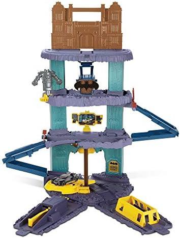 [해외]Hot Wheels DC Comics Batman Expanding Batcave Playset / Hot Wheels DC Comics Batman Expanding Batcave Playset