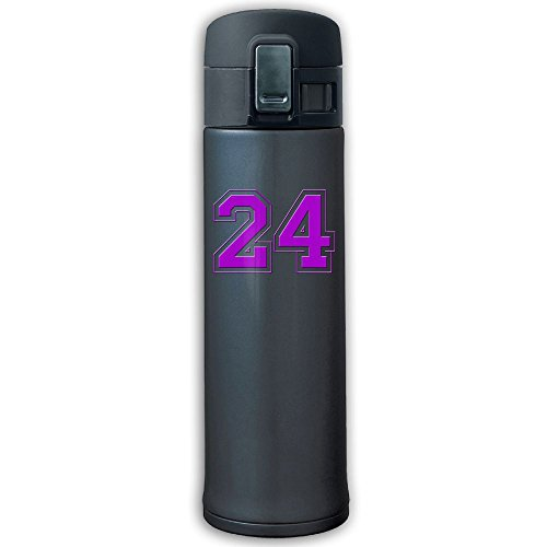 Sports Water Bottle 304 Stainless Steel Vacuum Insulated Leak Proof Purple 24 Camping Travel Thin Thermoses 500ML