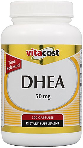 Vitacost DHEA temps de diffusion - 50 mg - 300 Capsules