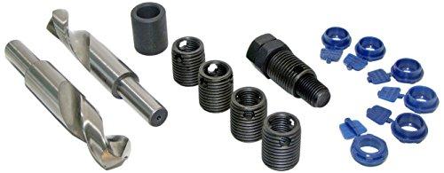 (LeaderSert 1/2-20 SAE Thread Repair Insert Kit with Drills, 10342)