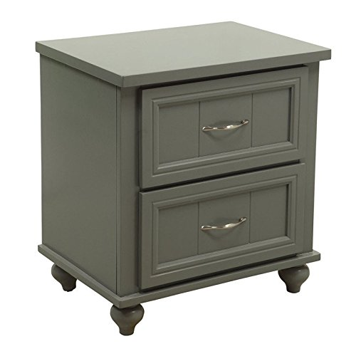247SHOPATHOME IDF-7322GY-N Childrens, nightstand, Gary