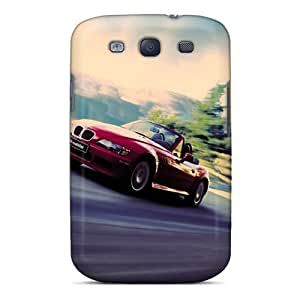ENl2695nQUz Tpu Phone Case With Fashionable Look For Galaxy S3 - Animated Car
