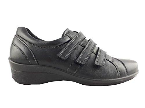 Ecco Damen Sneaker Schwarz Schwarz 36 EU Schwarz