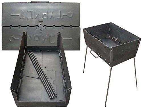 barbecue shashlik mangal grill barbecue set SHASHLIK MAKER Schaschlik GRILL