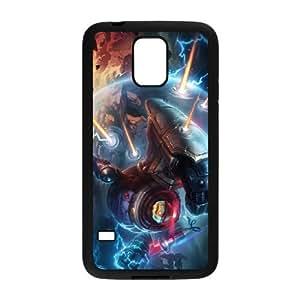 Samsung Galaxy S5 Cell Phone Case Black League of Legends Riot Blitzcrank SH3068251