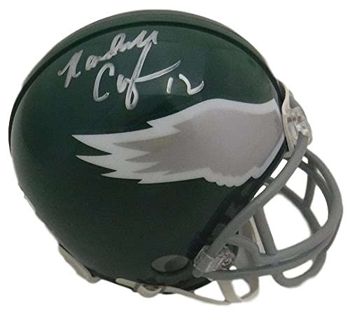 0f3b3ecc6b5 Randall Cunningham Autographed Philadelphia Eagles Throwback Mini Helmet JSA
