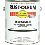 Rust-Oleum 2500 System <250 Voc Dtm Alkyd Enamel Safety Blue Gallon Can - Lot of 2