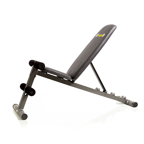Body Champ 5 Position Adjustable Utility Weight Bench Flat Incline Decline Fid Multi