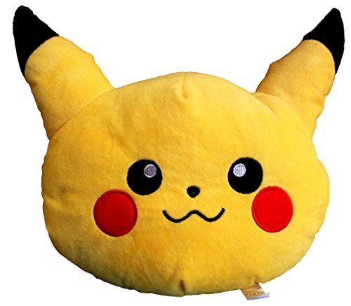 Pokemon Pikachu Emoji Style Throw Pillow