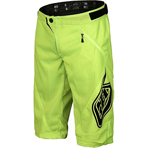 (Troy Lee Designs Sprint Boy's BMX Bicycle Shorts - Flo Yellow / 26)