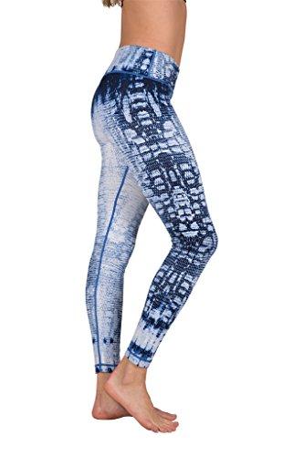 90 Degree By Reflex Peachskin Brushed Printed Leggings - Yoga Pants