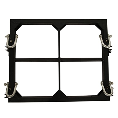 Seismic Audio SAXLP-FRAME, Mounting Frame for Powered Line Array Speakers and Subwoofers by Seismic Audio