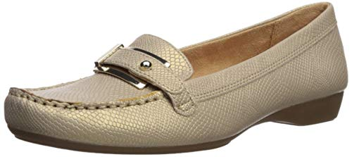 Naturalizer Women's Gisella Loafer Flat, Taupe, 8 W US